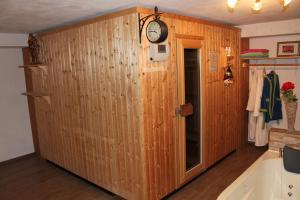 Ein Badezimmer in der Unterkunft Ferienwohnung Landhausliebe