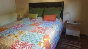 Una cama o camas en una habitación de Apartamento en Belgrano Luminoso y Tranquilo, WIFI