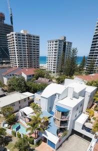 A bird's-eye view of Surfers Beach Resort One
