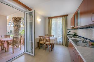 Küche/Küchenzeile in der Unterkunft Apartments Punta