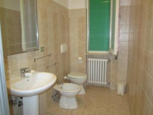 A bathroom at Casa Arcobaleno