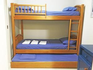 Litera o literas de una habitación en Apartamento Cabo Frio 3Q