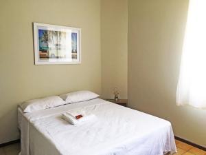 Cama o camas de una habitación en Apartamento Cabo Frio 3Q
