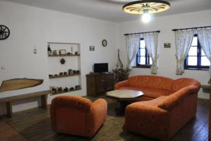 Posezení v ubytování Apartmán Srub