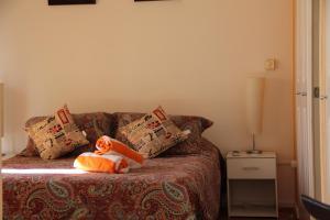 Cama o camas de una habitación en Nuevo Lastarria
