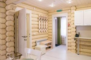 A bathroom at ApartHotel Pereslavskaya Sloboda