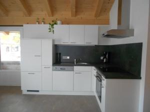 Küche/Küchenzeile in der Unterkunft Appartement Haus Petra