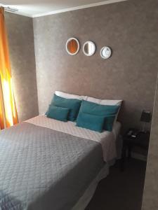 Cama o camas de una habitación en Apartment 209