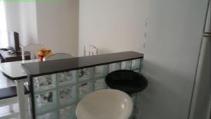 A bathroom at Blue Ville Cond Club