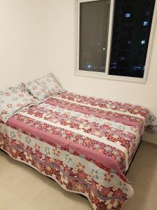 Postel nebo postele na pokoji v ubytování Riviera Boa Viagem
