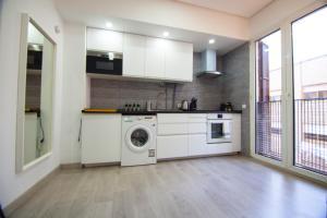 Küche/Küchenzeile in der Unterkunft Apartamento Céntrico - Montera