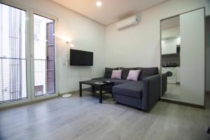 Ein Sitzbereich in der Unterkunft Apartamento Céntrico - Montera
