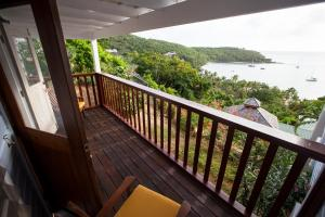 A balcony or terrace at Farside House
