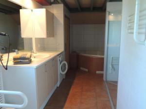 Küche/Küchenzeile in der Unterkunft Feriendorf Klosterheide