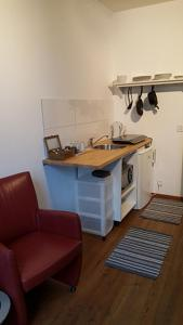 A kitchen or kitchenette at Shortstay Zwolle