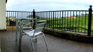 Balkon oz. terasa v nastanitvi Usotegi