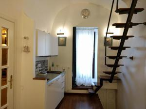 A cozinha ou cozinha compacta de San Vito Apartment