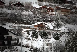 Magnifique chalet pour 10 personnes à Vercorin during the winter