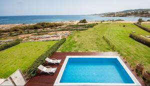 A view of the pool at Luxury Bay View Villa 20 Right On Τhe Beach or nearby