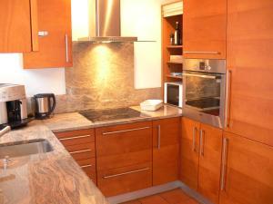 Küche/Küchenzeile in der Unterkunft Residenz