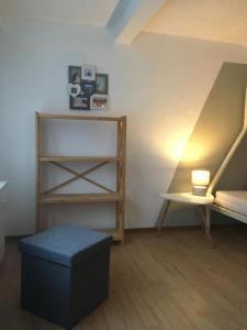 Ein Bett oder Betten in einem Zimmer der Unterkunft Haus an der Südsee
