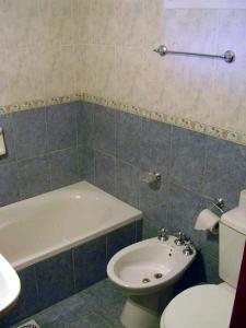 Un baño de Cabañas Don Pancho