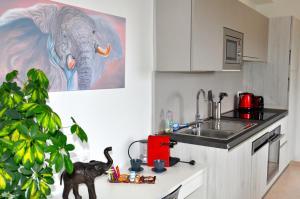 Cucina o angolo cottura di Villa 3 elephants