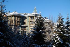 Cascade Lodge by ResortQuest Whistler during the winter