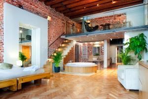 Vonios kambarys apgyvendinimo įstaigoje Aparthotel Stare Miasto