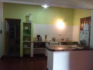 Una cocina o kitchenette en El Alamo