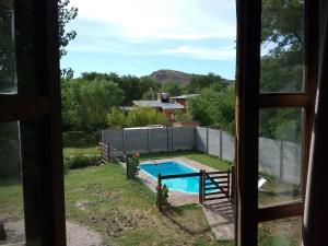 A view of the pool at El Alamo or nearby