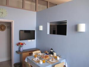 A television and/or entertainment center at The Studio, Ventnor