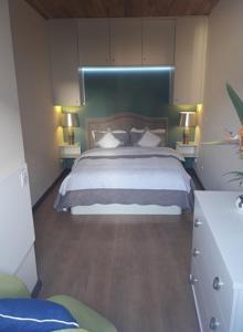 A bed or beds in a room at Mar de Prata