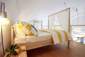 Кровать или кровати в номере Castle Mezzacapo