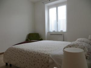 La Casa Giallaにあるベッド