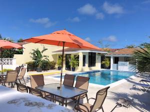 A piscina localizada em The Oasis Retreat ou nos arredores