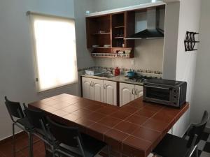 Una cocina o zona de cocina en Casa Viveros