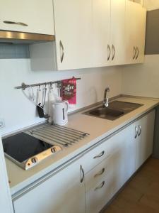 Kuhinja oz. manjša kuhinja v nastanitvi Apartment in Geminis