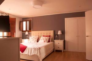 Cama o camas de una habitación en Casa Del Beso