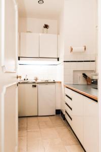 Küche/Küchenzeile in der Unterkunft Ofenloch Apartments