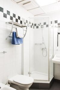 Ein Badezimmer in der Unterkunft Ofenloch Apartments