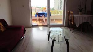 Posezení v ubytování Urban Apartments Jadre