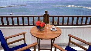 A balcony or terrace at Hotel Selenunda