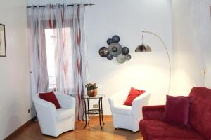 A seating area at Apartment Governo Vecchio 34