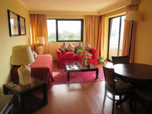 Zona de estar de Renta Suite Menorca