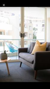 A seating area at Executive Studio in Bondi Junction