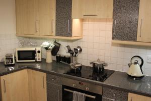 Kuhinja ili čajna kuhinja u objektu The Regent Apartment 2 Kingston Centre