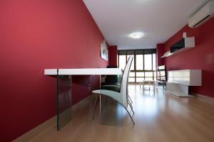 Een stapelbed of stapelbedden in een kamer bij My Apartments - Torres de Serranos