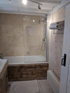 A bathroom at Charming Period Cottage