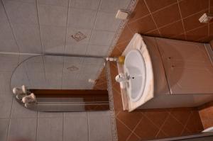 A bathroom at Кутузовский пр 5/3